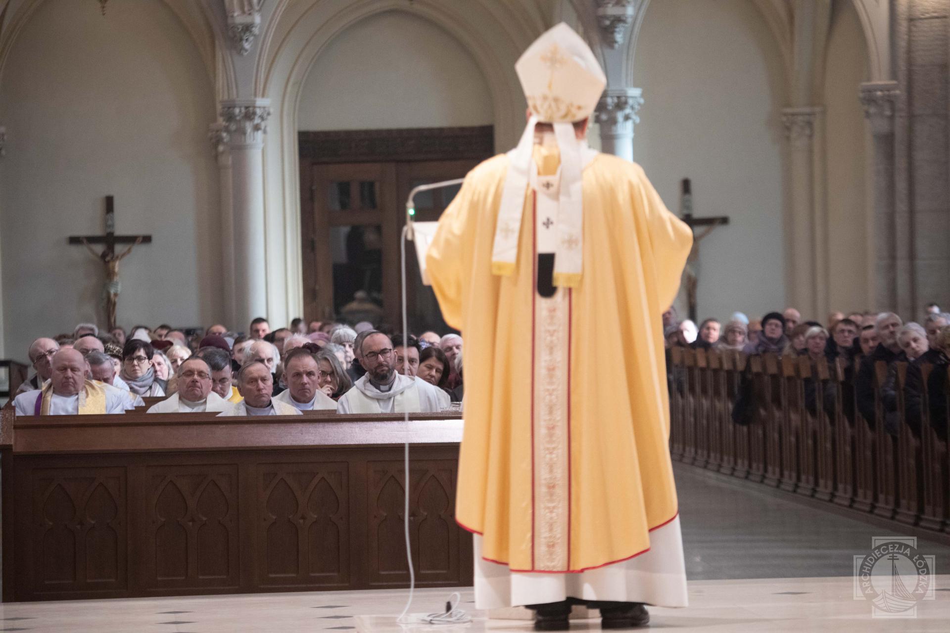 Inauguracja trzeciego roku Synodu Archidiecezji Łódzkiej